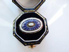 Danish Art Deco Lavender Guilloche Enamel by PurplePandaVintage, $48.00