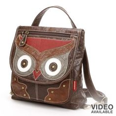 Unionbay Owl Convertible Backpack Pinned by www.myowlbarn.com