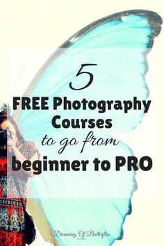 Top 5 Free Essential Photography Courses that will make you Shoot like a Genius Every young photographer needs to start somewhere. Here are our top 5 FREE Essential Photography Courses that will make you Shoot like a Genius! Free Photography Courses, Dslr Photography Tips, Photography Lessons, Photography For Beginners, Photography Business, Photography Tutorials, Creative Photography, Digital Photography, Photography Backdrops