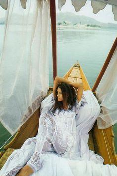 #Boho #Gypsy ~White on White