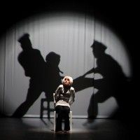 3D Mapping and Theatre - this image is very similar to what I would like the outcome to be portrayed like for the 'abuse sequence's ' which are being performed as shadows, this way, it isn't actually witnessed, it is down to audience interpretation which they then may question what they saw and be in doubt.