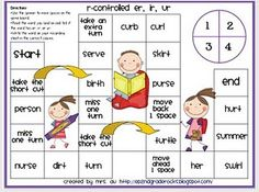 r controlled phonics game. Repinned by SOS Inc. Resources.  Follow all our boards at http://pinterest.com/sostherapy  for therapy resources.