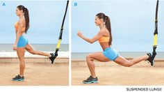 TRX workout - just started this. Kind of awkward at first, but it is awesome!