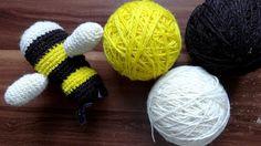 kostenlose Anleitung Hummel/ free crochet pattern bumblebee