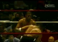 real-hiphophead:   Mike Tyson dodges 7 punches and delivers the KO