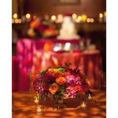 Throwback Thursday to Mr. & Mrs. Blaine Vaughan's gorgeous wedding! This took place on July 16, 2011. A timeless style for bright wedding centerpieces! #tbt #collegeflowers #lubbock