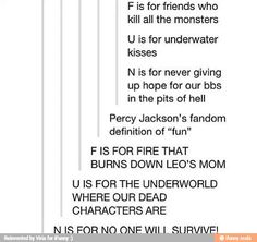 PJO fandom.. pretty self explanatory.