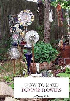 How to Make Forever Garden Flowers ebook by TammyVitale on Etsy, $10.00