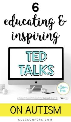 April is Autism Awareness Month, or better yet, Acceptance Month. I rounded up some TED Talks on autism – ranging from research to experiences.