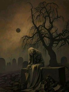Dark Art by Sylwia SmerdelTap the link now to visit the one stop shop for Rock Band and Gothic Merchandise! Creepy Pictures, Halloween Pictures, Halloween Art, Arte Horror, Horror Art, Gothic Fantasy Art, Dark Artwork, Gothic Artwork, Beautiful Dark Art