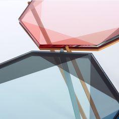 Gem Glass Top Coffee Table