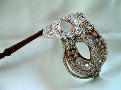 Columbina Silver Macram Stick