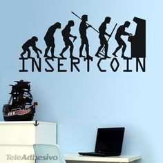 Wall Stickers Evolucion InsertCoin