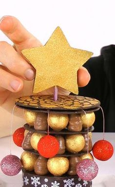 Xmas tower dessert - online course