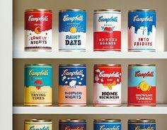 다음 @Behance 프로젝트 확인: \u201cCampbell's Cans Of Positivity\u201d https://www.behance.net/gallery/18230293/Campbells-Cans-Of-Positivity