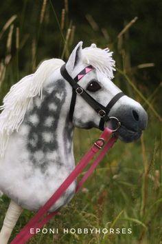 Hobbyhorse by Eponi. Stick Horses, Horse Crafts, Hobby Horse, Sewing Toys, Whimsical Art, Dressage, Kids Playing, Pony, Animals