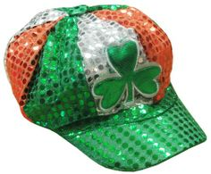 St.Patrick's Day Sequin Shamrock Hat « Holiday Adds