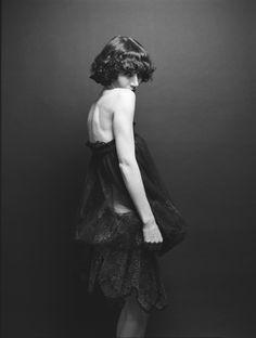 Miranda July by Autmn de Wilde Miranda July, Beautiful People, Ballet Skirt, Stylists, Bride, Black And White, Female, My Style, Celebrities
