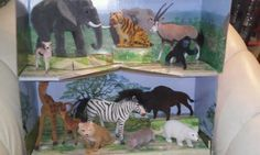 Natures Way Grand Zoo Collection FAO Schwarz with display box! Excellent