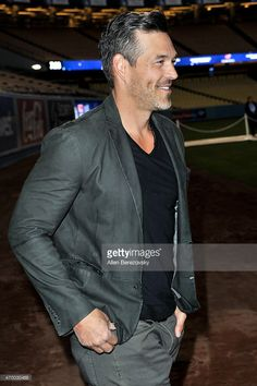 Actor Eddie Cibrian attends the Los Angeles Dodgers Foundation Inaugural Blue Diamond Gala with special performance by Aloe Blacc at Dodger Stadium on April 16, 2015 in Los Angeles, California.