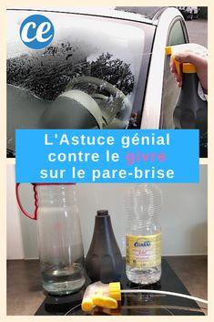 L'Astuce Magique Pour Ne Plus JAMAIS Avoir de Givre Sur le Pare-Brise.