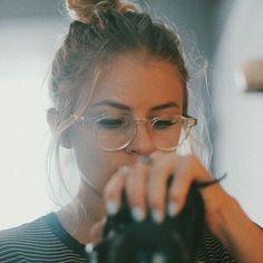 Unauffällig, auffällige diese Hornbrille