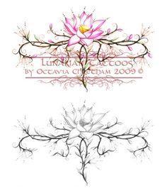 Lotus Flower Tattoos on Lotus Flower