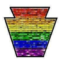 Keystone Pride symbol