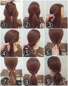 The Secrets To Having Great Looking Hair Up Hairstyles, Pretty Hairstyles, Hair Arrange, Pinterest Hair, Hair Dos, Gorgeous Hair, Prom Hair, Hair Hacks, Hair Inspiration