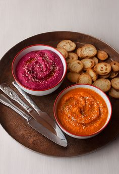 Vegetarian Recepies, Raw Food Recipes, Veggie Recipes, Healthy Recipes, Pesto, Guacamole, Healthy Afternoon Snacks, Dips, Food Photo