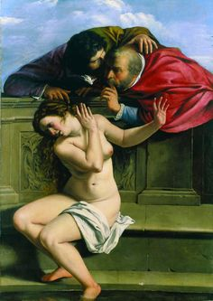 Artemisia Gentileschi - Susanna and The Elders Artemisia Gentileschi was an Italian Baroque painter, today considered one of the most accomplished painters in the generation after Caravaggio. she was born on July 1593 in Rome and died 1656 in Naples. Caravaggio, Baroque Painting, Baroque Art, Woman Painting, Artemisia Gentileschi Paintings, Orazio Gentileschi, Renaissance Kunst, Italian Renaissance, Female Painters