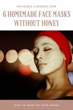 How to make a DIY face mask without honey #FaceScrubForWrinkles #TumericFaceMaskForAcne #SugarScrubForFace Easy Homemade Face Masks, Diy Face Mask, Sugar Scrub For Face, Cream For Oily Skin, Skin Cream, Face Mask For Blackheads, Avocado Face Mask, Face Masks For Kids, Facial Scrubs