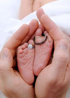 I really don't get the baby feet wedding rings photos. Why are all the baby photos now so overly contrived? Newborn Pictures, Baby Pictures, Baby Photos, Family Photos, Cute Pictures, Cute Babies, Baby Kids, Baby Baby, 2nd Baby