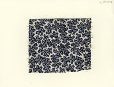Vermicular print from the late 19th century.