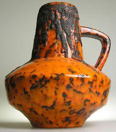 fat lava pottery   Fat-Lava-West-German-Pottery-Modernistic-Mid-20-th-Century-Vintage ...