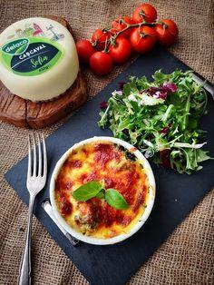 Broccoli cu pastrav in sos de cascaval - Bucataresele Vesele Lasagna, Camembert Cheese, Eggs, Breakfast, Food, Drink, Morning Coffee, Beverage, Essen