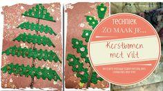 Hobby Alternatief: Zo maak je... een kerstboom met vilt