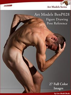 Art Models BenP028: Figure Drawing Pose Reference (Art Models Poses):   Draw, paint, sculpt the figure anytime and anywhere with this portable figure reference./bbr /br /This dramatic Pose gives you 27 photos--one every 15 degrees as the male model turns through a full circle plus alternate angles. Choose your preferred view for 2D art, like painting or see the whole figure for 3D art, like sculpture. Zoom in to see details in hands and face and other tricky areas, giving you even more...