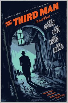 The Third Man   Movie Poster   by Francesco Francavilla