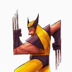 Comic Book Artists, Comic Book Characters, Comic Books Art, Comic Art, Rogue Comics, Marvel Dc Comics, Deadpool Art, Logan's Run, Wolverine Art
