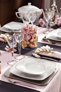 Ancester Yemek Takımı / Dinnerware Set #bernardo #mutfak #kitchen #davet #tabledesign