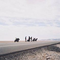 Middle of nowhere, Baja and totally fine with it.... - Biltwell Inc.