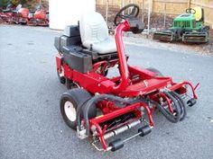 2005-TORO-GREENSMASTER-3150- mower 2350 hours