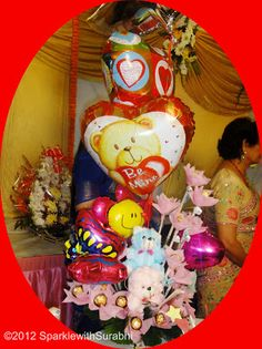 Baloon and Chocolate Bouquet...
