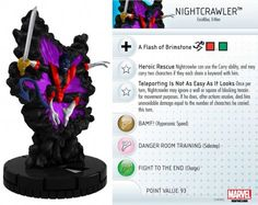 Nightcrawler #070 Wolverine and the X-Men Marvel Heroclix - Wolverine & the X-Men Booster Set - Wolverine and the X-Men - HeroClix - Miniatu...