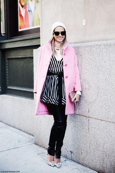 New York Fashion Week Fall Winter 2014