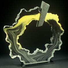 COLIN REID: Untitled   Kiln cast glass and polished
