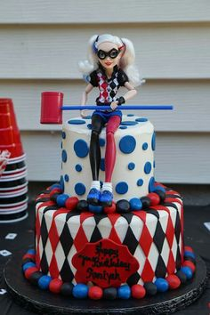 Harley Quinn Birthday Cake Cakes Girls Kids 4th Parties 8th