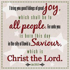 Luke 2:10-11 #verse #Christmas
