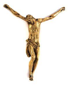 """CORPUS CHRISTI Höhe: 25 cm. Breite: 20 cm. Beigegeben Korrespondenz sowie Kaufquittung """"Florenz 1970"""" (damals noch dem Bildhauer Tiziano Aspetti zug.). In..."""